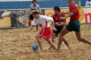 Torneo di beach soccer allo stadio Novi