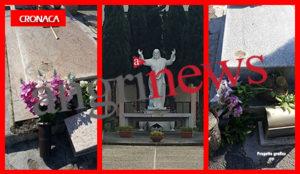 Furto Cimitero