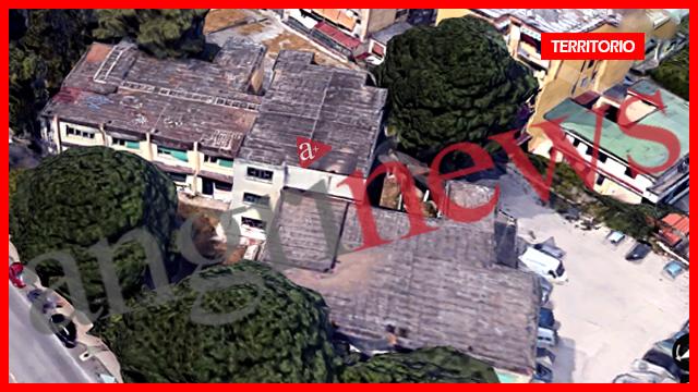 Scuola dall'alto via Cervinia